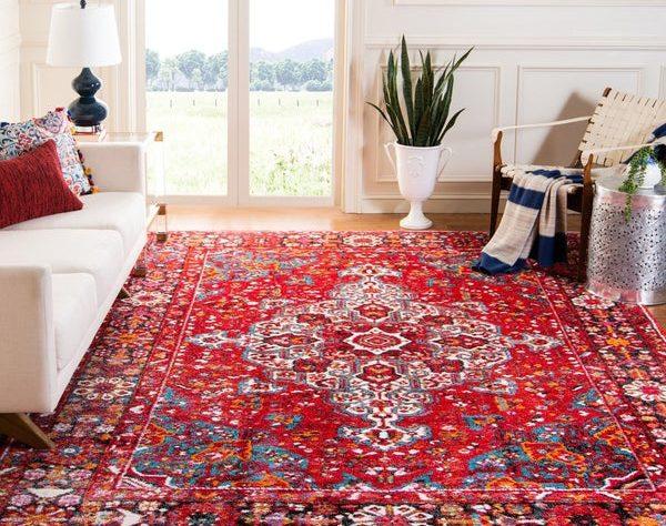 ست مبل فرش قرمز