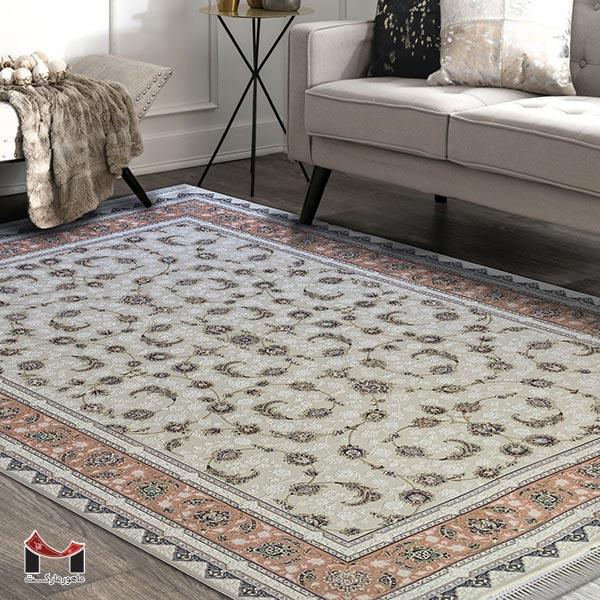 فرش مناسب فضای کوچک طرح افشان
