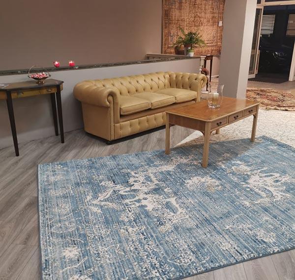 عکس فرش مدرن طرح پتینه
