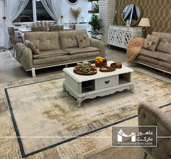 مدل فرش فانتزی فرش ورساچه، فرش مدرن