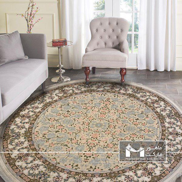 فرش گرد در دکوراسیون